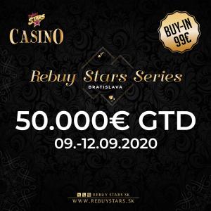 Rebuy Stars Series Bratislava 50.000€ GTD