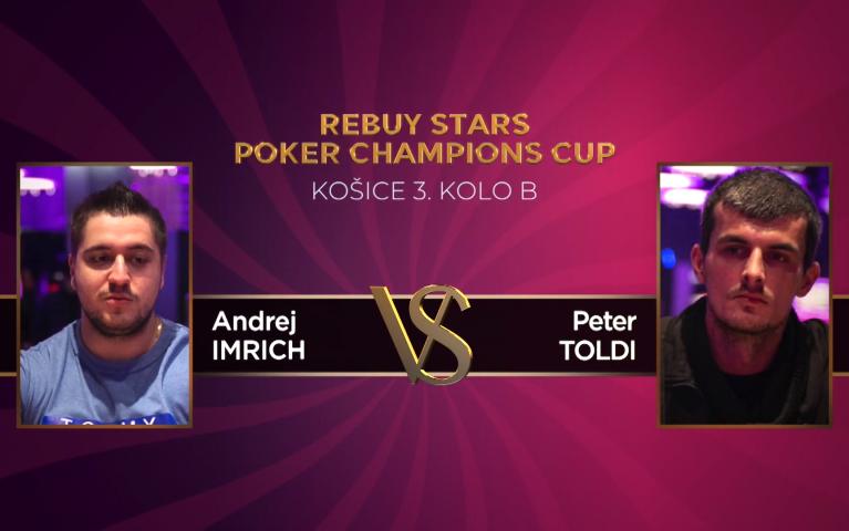 Poker Champions Cup – Košice 3. kolo B