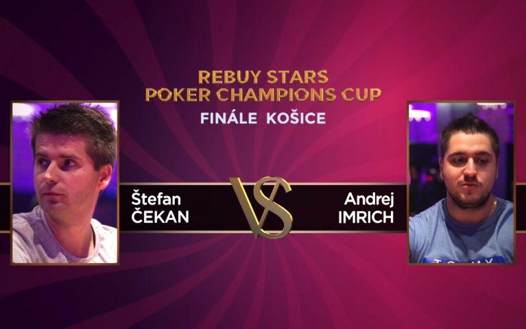 Poker Champions Cup – Finále Košice