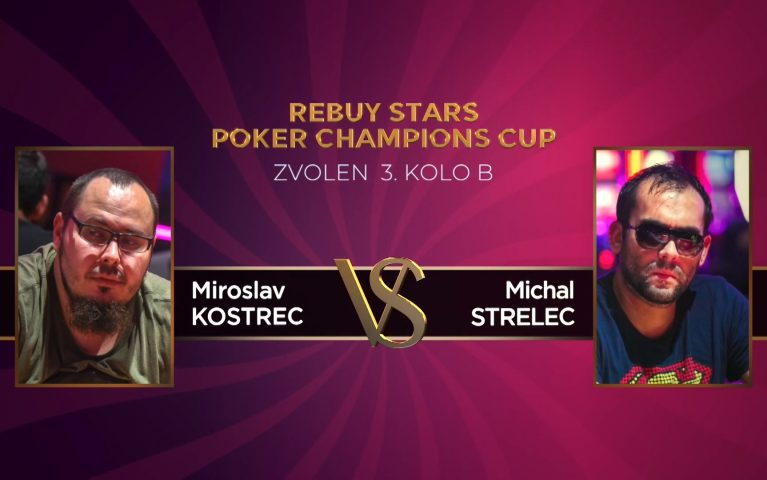 Poker Champions Cup – Zvolen 3. kolo B