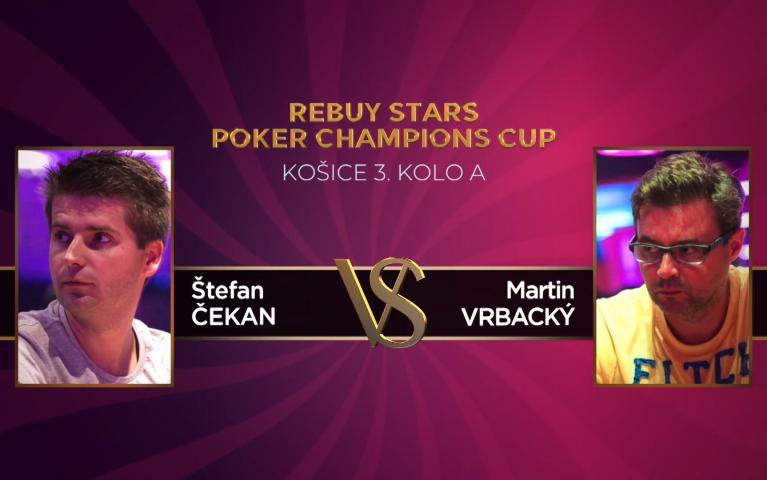 Poker Champions Cup – Košice 3. kolo A