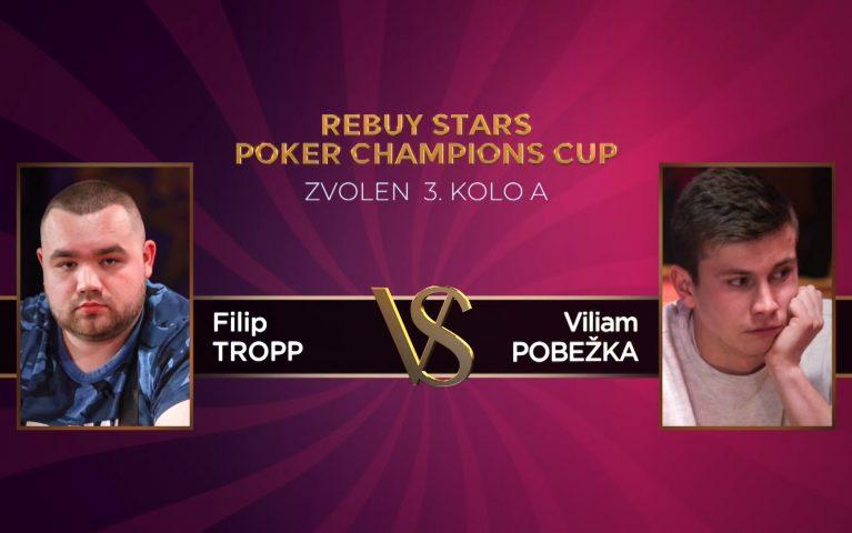 Poker Champions Cup – Zvolen 3. kolo A