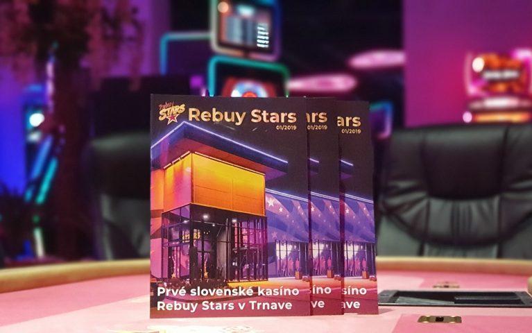 Na svete je druhé vydanie magazínu Rebuy Stars!